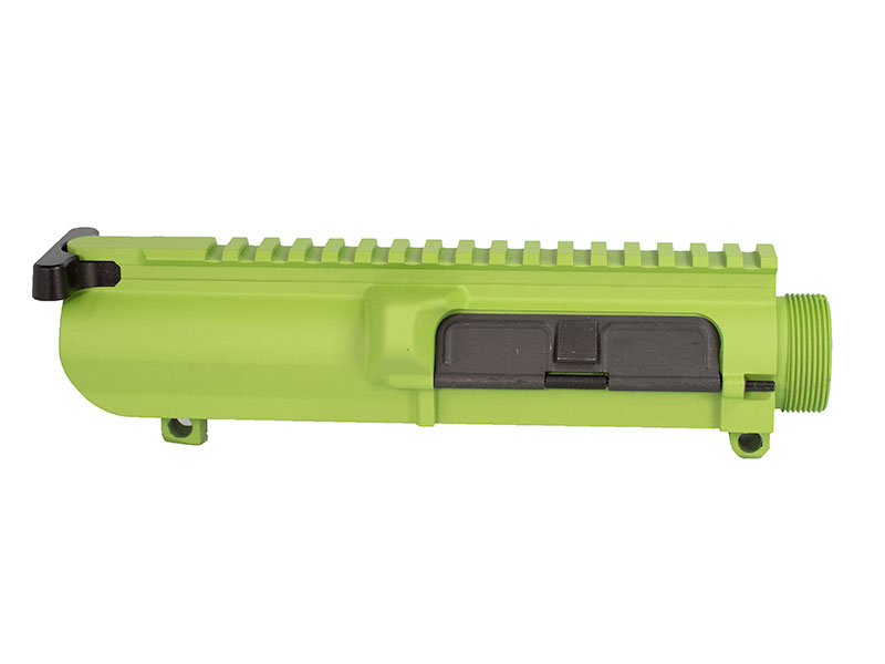 Cerakoted 308 Zombie Green assembled upper receiver