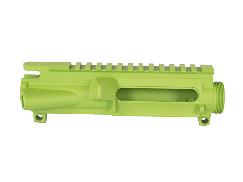 Cerakote Zombie Green AR-15 stripped upper