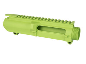 Cerakote 308 Ar-10 stripped upper Zombie Green