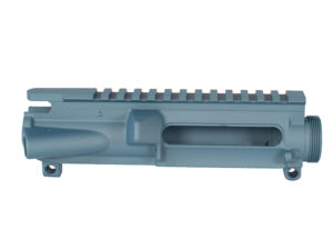 Cerakoted AR-15 Stripped Upper Blue Titanium